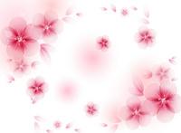 粉色大气时尚卡通花朵装饰画
