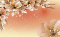 卡通精美时尚花朵装饰画
