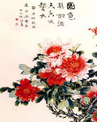 花牡丹装饰画