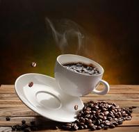 咖啡咖啡杯装饰画