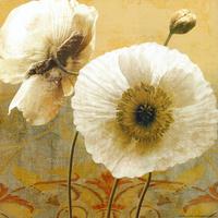 复古古典花卉装饰画2