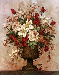 复古花瓶装饰画