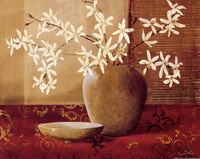 中式古典花瓶装饰画