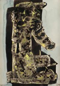 抽象个性欧美抽象装饰画1