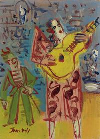 个性欧美抽象装饰画5