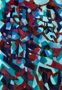 个性欧美抽象装饰画3