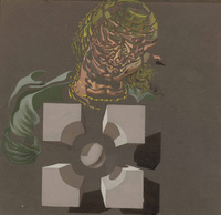 创意个性欧美抽象装饰画