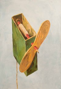 个性铅笔欧美抽象装饰画