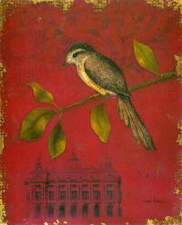 复古小鸟装饰画
