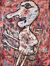 个性欧美抽象装饰画4