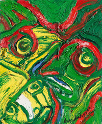 水彩抽象个性欧美装饰画