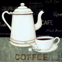 复古咖啡杯装饰画2