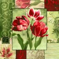 欧风古典花卉装饰画
