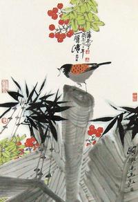 国风花鸟装饰画
