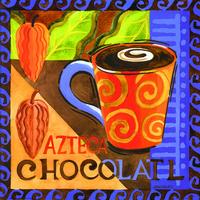 多彩咖啡杯装饰画2