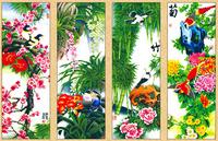 梅兰竹菊装饰画5