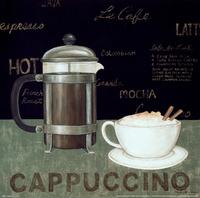 复古咖啡杯装饰画3