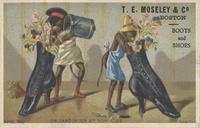 猴子高跟鞋装饰画素材