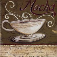 复古咖啡杯装饰画