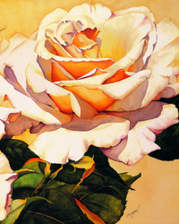 艳阳下的玫瑰花装饰画2