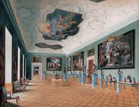 油画画作展厅装饰画
