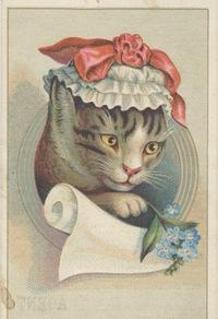 可爱小猫装饰画素材
