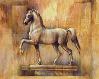 古典骏马装饰画1
