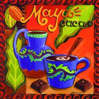 多彩咖啡杯装饰画1