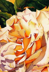 阳光下的玫瑰花装饰画