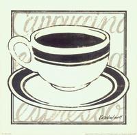 复古咖啡杯装饰画1