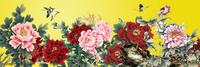 中国风牡丹花装饰画