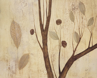 凋零的树叶装饰画1