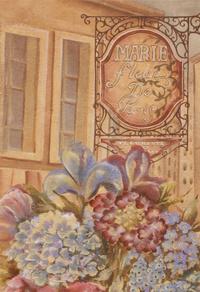 古典鲜花花卉装饰画2