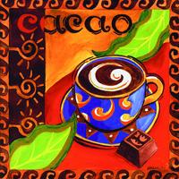 多彩咖啡杯装饰画3