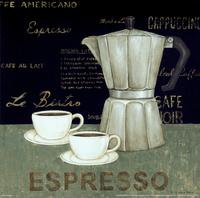 复古咖啡杯装饰画5