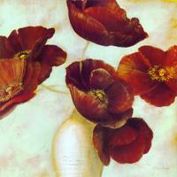 鲜艳的花瓶装饰画1