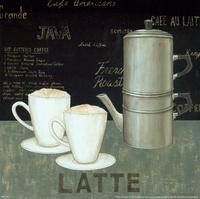复古咖啡杯装饰画4