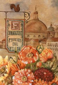 古典鲜花花卉装饰画