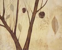凋零的树叶装饰画