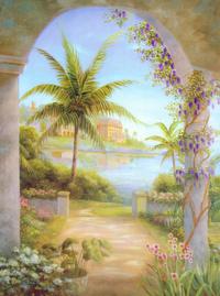 精美大树油画装饰画
