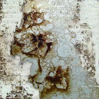 复古抽象树叶装饰画