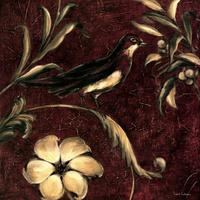 复古花鸟装饰画素材1