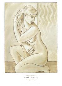 裸露女人装饰画