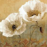 复古古典花卉装饰画1